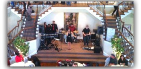 Performing at The DelMonaco Winery